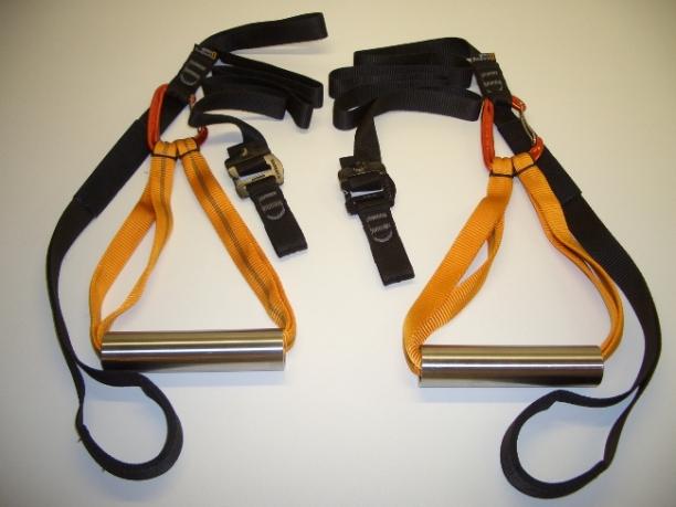 Ein einfacher und robuster Sling Trainer von klimmzugstangen.de