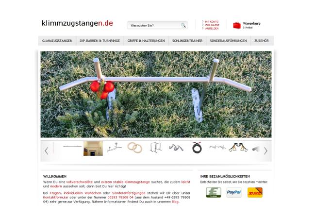 Refurbish von klimmzugstangen.de