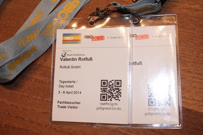 Klimmzugstangen.de auf der FIBO 2014